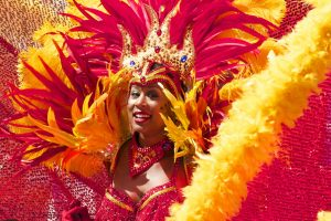 brazilian woman in carnival
