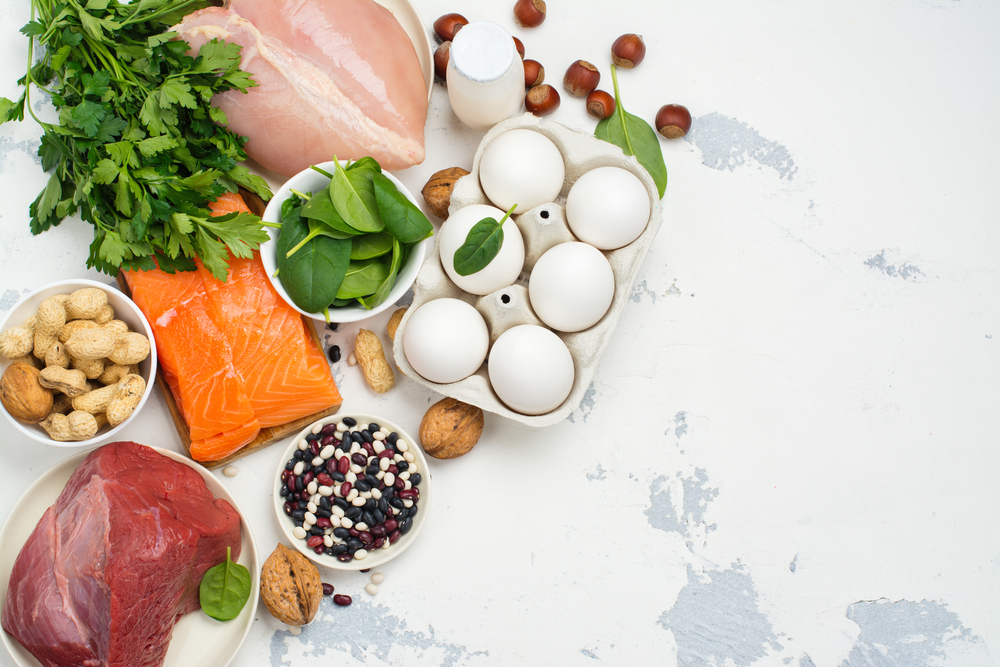 healthy foods high in protein