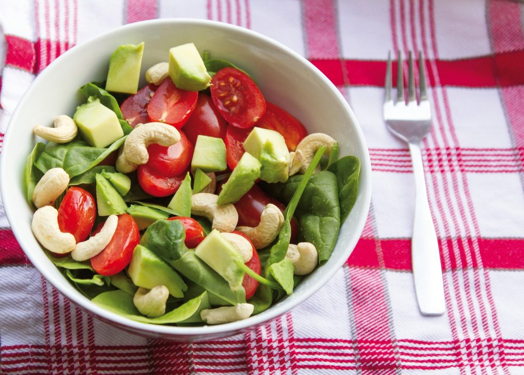 Salad for flat belly