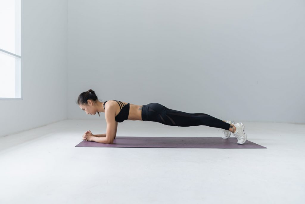 plank core power exercises