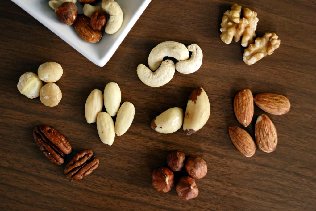 variety of nuts for weight loss